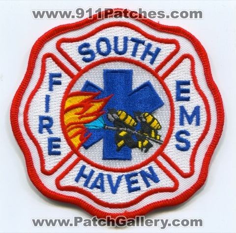 South Haven Fire EMS Department Patch Indiana IN