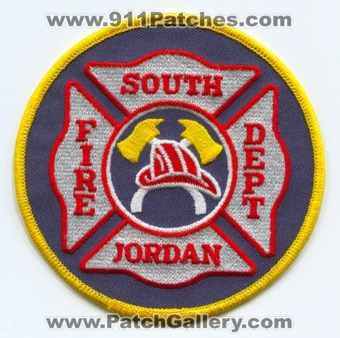South Jordan Fire Department Patch Utah UT