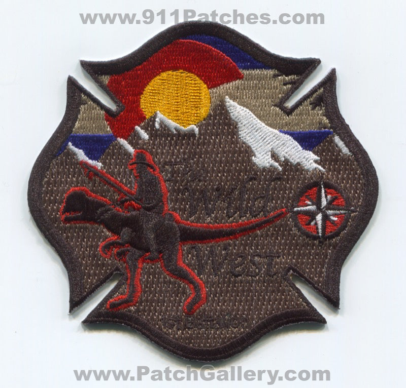 South Metro Fire Rescue Department Battalion 1 Patch Colorado CO