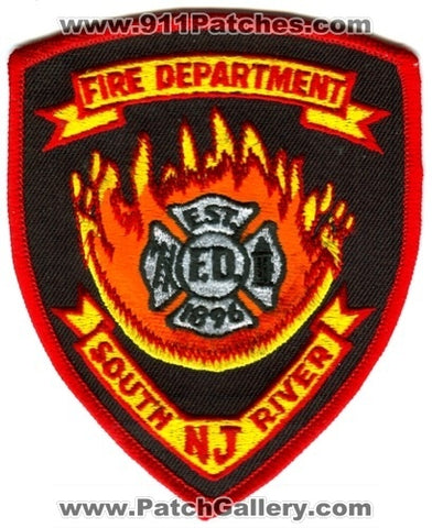 South River Fire Department Patch New Jersey NJ