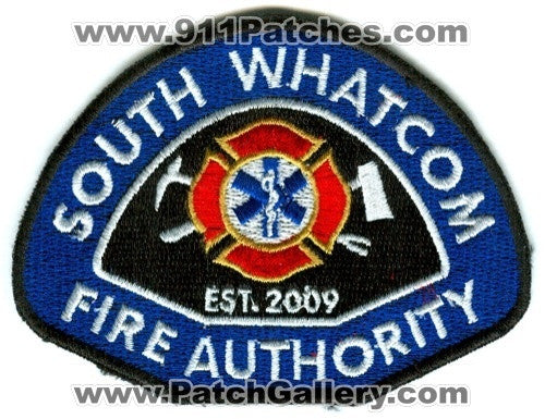 South Whatcom Fire Authority Patch Washington WA