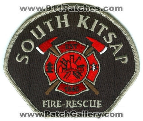 South Kitsap Fire Rescue Department Patch Washington WA