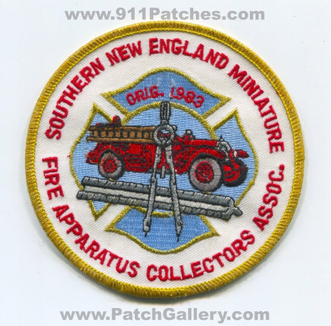 Southern New England Miniature Fire Apparatus Collectors Association Patch No State Affiliation