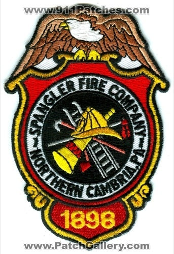Spangler Fire Company Northern Cambria Patch Pennsylvania PA
