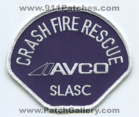 Saint Louis Area Support Center SLASC Crash Fire Rescue CFR Department Patch Missouri MO
