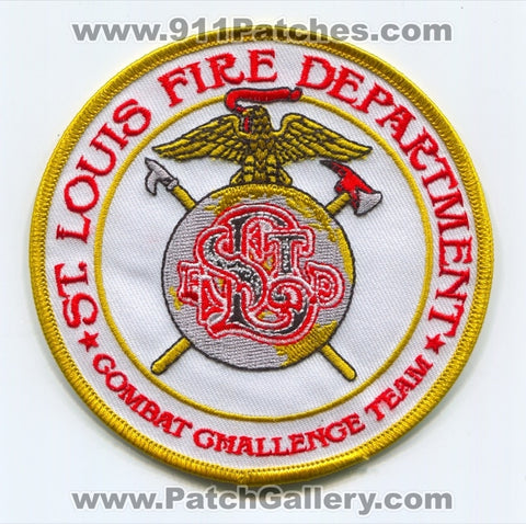 Saint Louis Fire Department Combat Challenge Team Patch Missouri MO