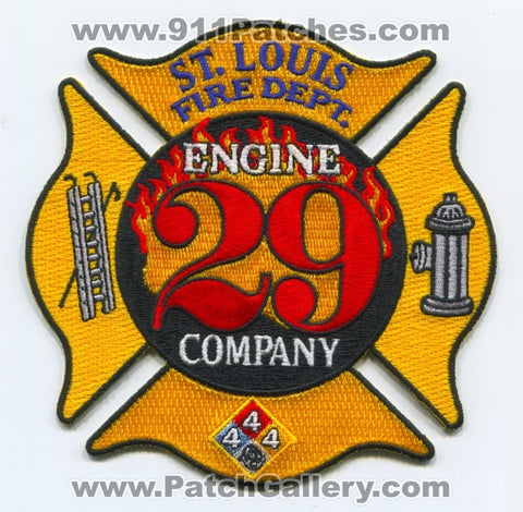 Saint Louis Fire Department Engine Company 29 Patch Missouri MO