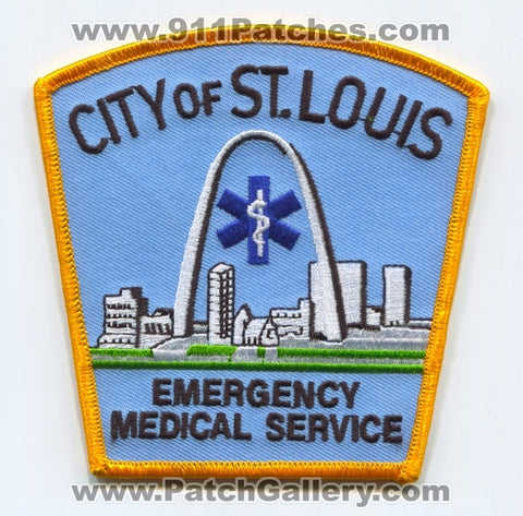Saint Louis Emergency Medical Services EMS Patch Missouri MO