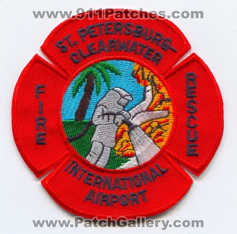 Saint Petersburg-Clearwater International Airport Fire Rescue Department Patch Florida FL