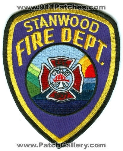 Stanwood Fire Department Patch Washington WA