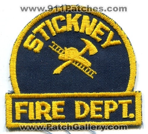 Stickney Fire Department Patch Illinois IL