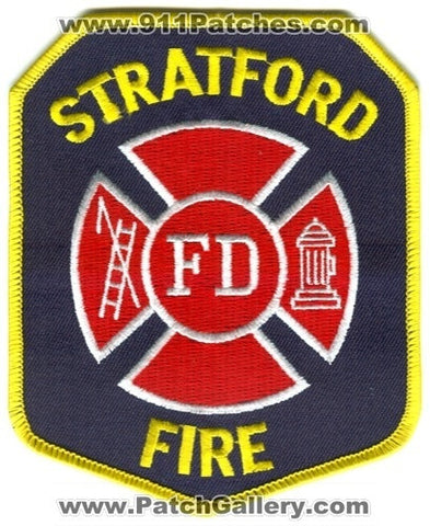 Stratford Fire Department Patch Connecticut CT
