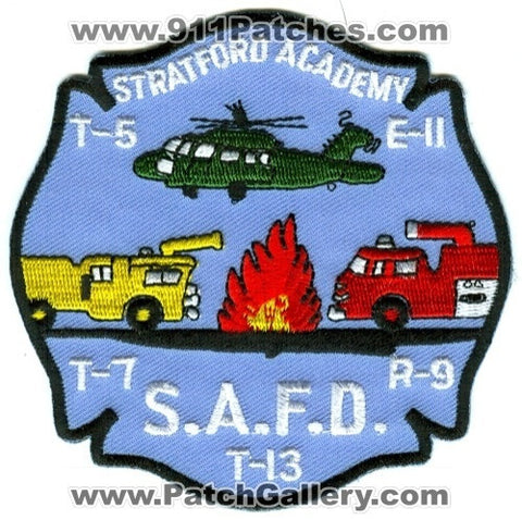 Stratford Academy Fire Department Engine 11 Truck 5 7 13 Rescue 9 Patch Connecticut CT