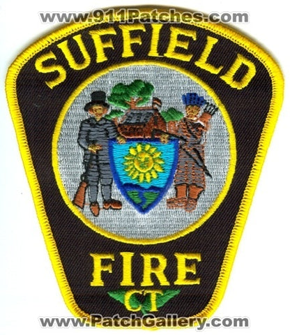 Suffield Fire Department Patch Connecticut CT