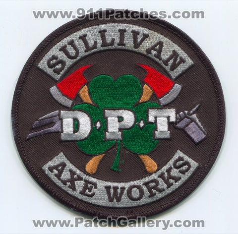 Sullivan Axe Works DPT Fire Department Firefighter Patch Wisconsin WI