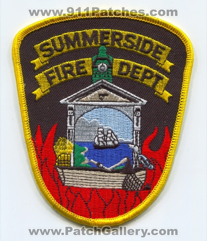 Summerside Fire Department Patch Ohio OH