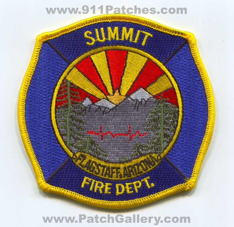 Summit Fire Department Flagstaff Patch Arizona AZ