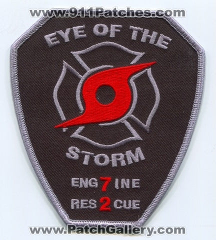 Sunrise Fire Rescue Department Station 72 Patch Florida FL