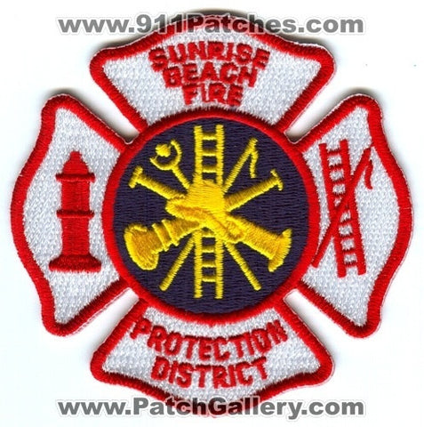 Sunrise Beach Fire Protection District Patch Missouri MO