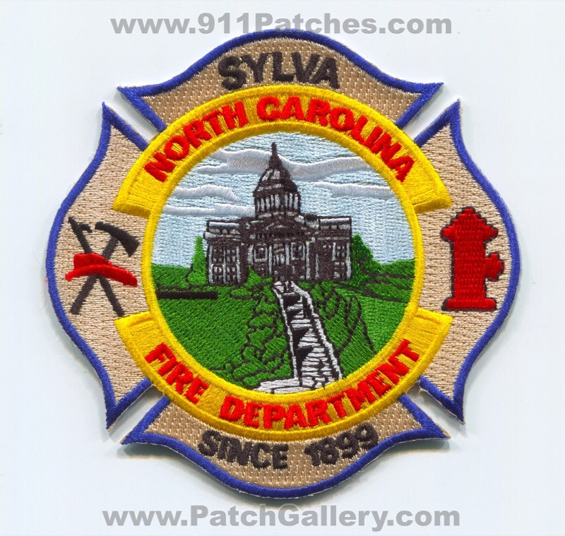 Sylva Fire Department Patch North Carolina NC