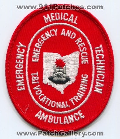 T and I Vocational Training Emergency Medical Technician EMT Ambulance EMS Patch Ohio OH