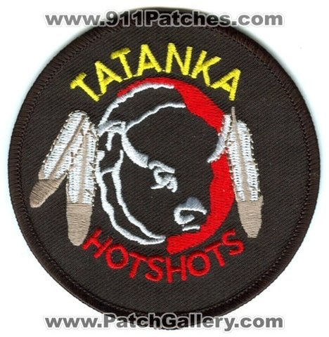 Tatanka HotShots Forest Fire Wildfire Wildland Patch South Dakota SD