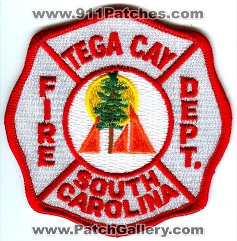 Tega Cay Fire Department Patch South Carolina SC