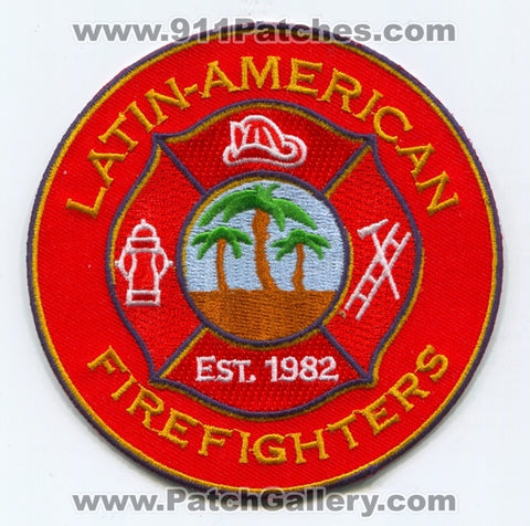 The Hartford Society of Latin American Firefighters Patch Connecticut CT