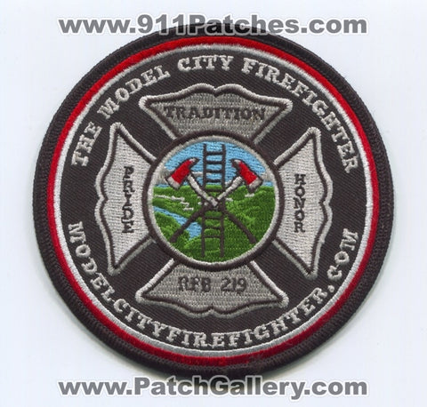 The Model City FireFighter Patch No State Affiliation