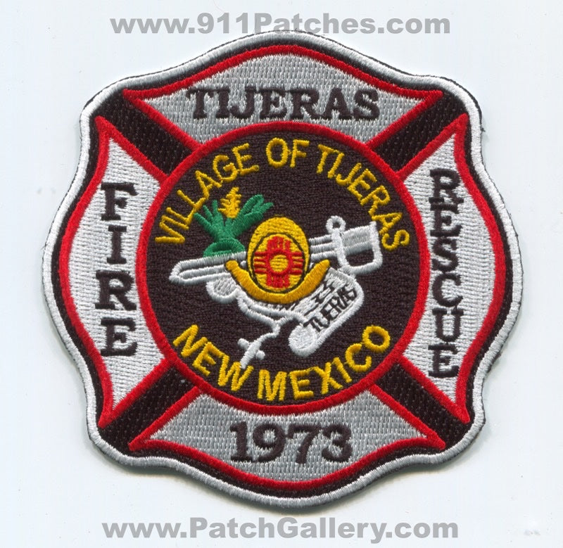 Tijeras Fire Rescue Department Patch New Mexico NM