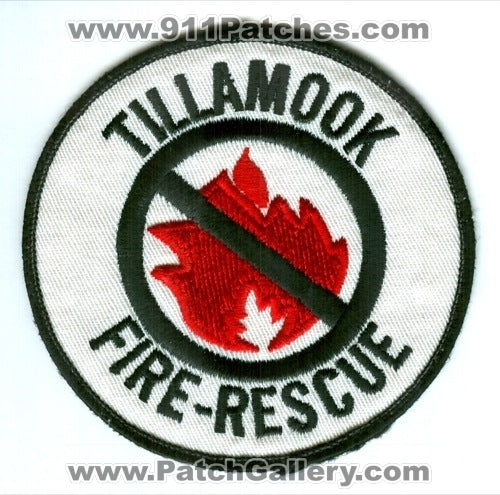 Tillamook Fire Rescue Department Patch Oregon OR