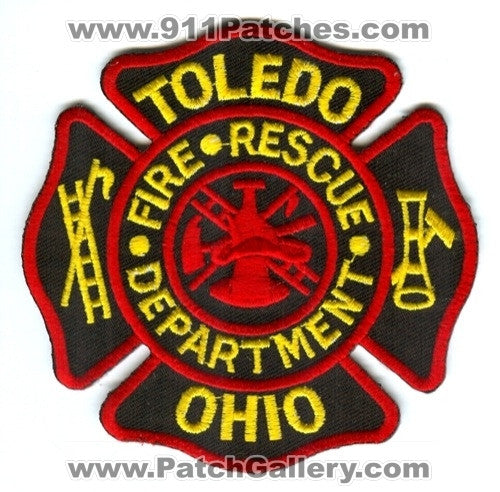 Toledo Fire Rescue Department Patch Ohio OH