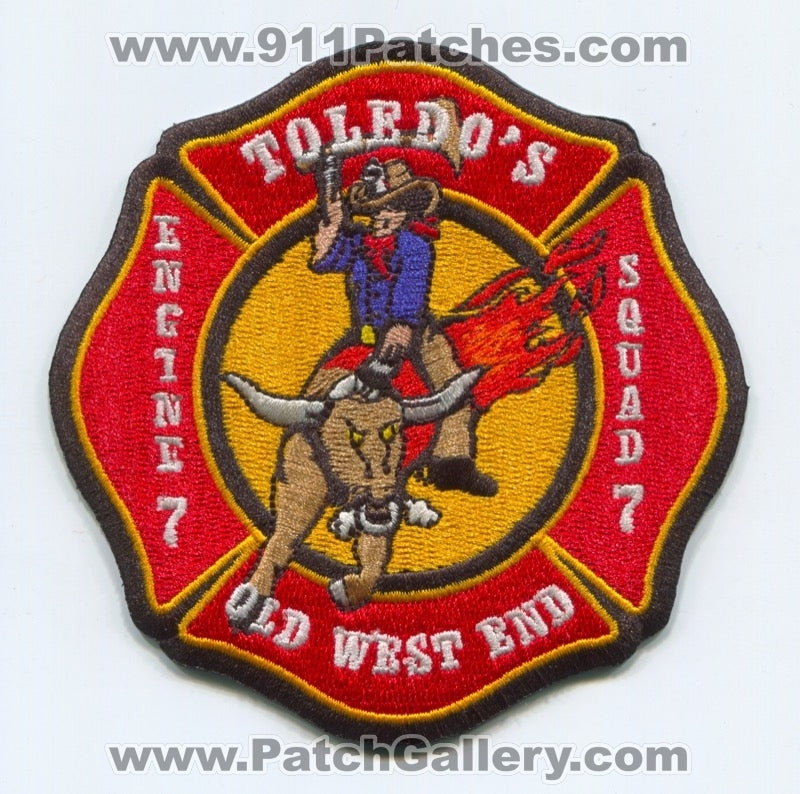 Toledo Fire Department Station 7 Patch Ohio OH