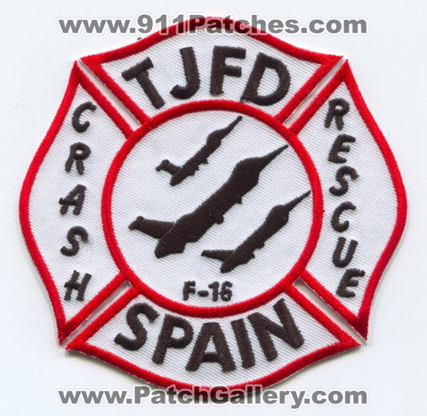 Spain - Torrejon Air Base Fire Department Crash Rescue Patch