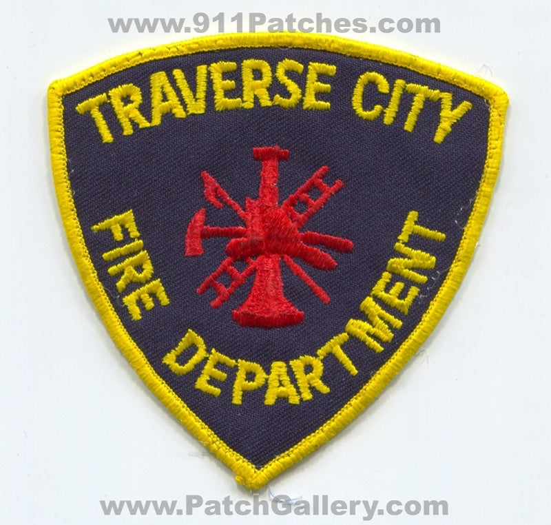 Traverse City Fire Department Patch Michigan MI