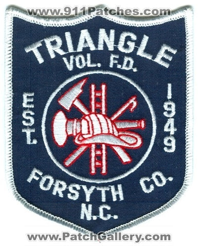Triangle Volunteer Fire Department Forsyth County Patch North Carolina NC