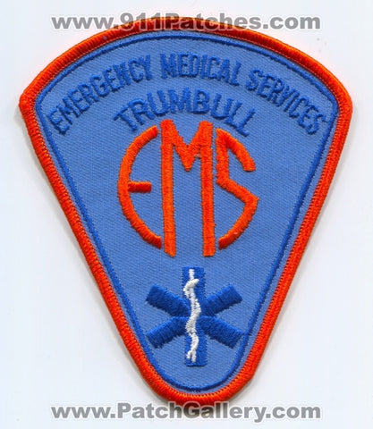 Trumbull Emergency Medical Services EMS Patch Connecticut CT