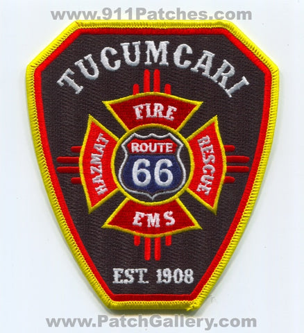 Tucumcari Fire Rescue Department Patch New Mexico NM