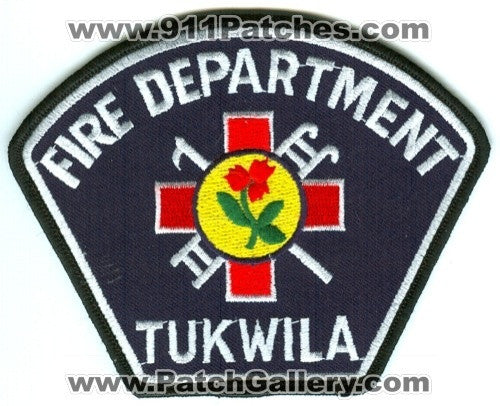 Tukwila Fire Department Patch Washington WA