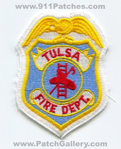 Tulsa Fire Department Patch Oklahoma OK