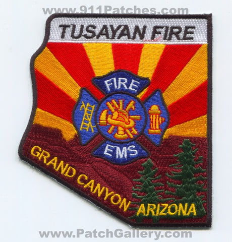 Tusayan Fire EMS Department Grand Canyon Patch Arizona AZ