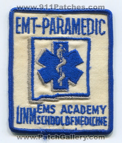 University of New Mexico UNM EMS Academy EMT Paramedic Patch New Mexico NM