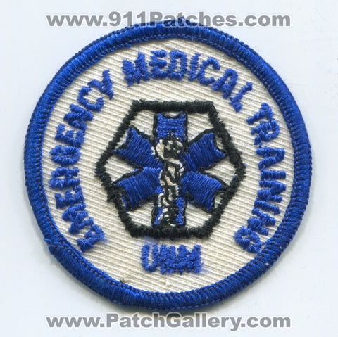 University of New Mexico UNM Emergency Medical Training EMS Patch New Mexico NM