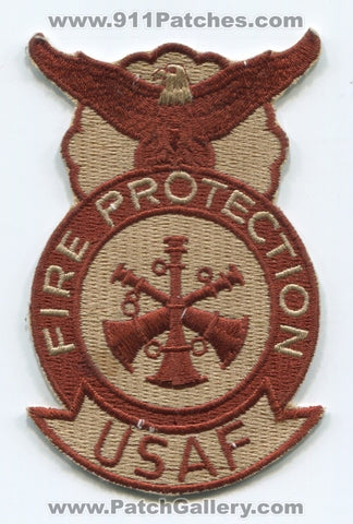 United States Air Force USAF Fire Protection Assistant Chief Military Patch No State Affiliation