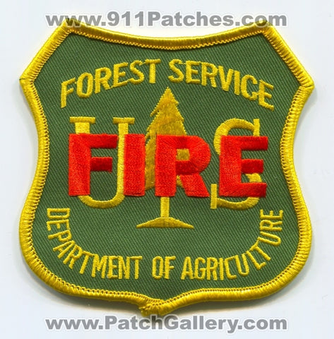 United States Forest Service USFS Fire Wildfire Wildland Patch Washington DC