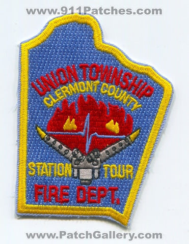 Union Township Fire Department Station Tour Patch Ohio OH