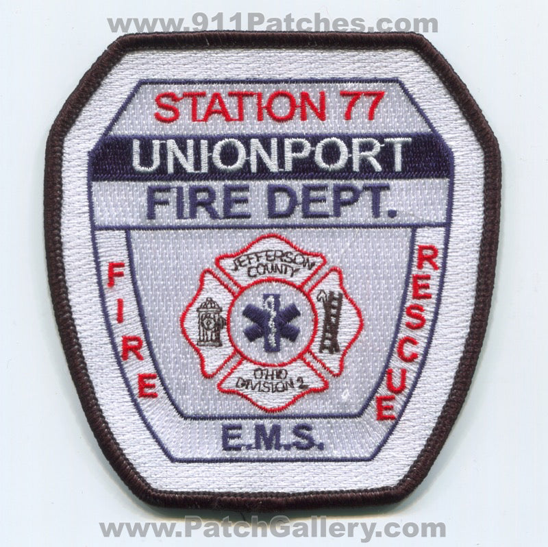 Unionport Fire Rescue Department Station 77 Jefferson County Patch Ohio OH