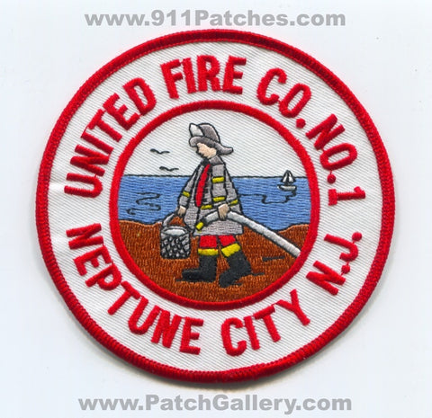United Fire Company Number 1 Neptune City Patch New Jersey NJ
