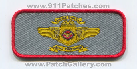 United States Aerial Firefighter Aviation Forest Fire Patch Arizona AZ