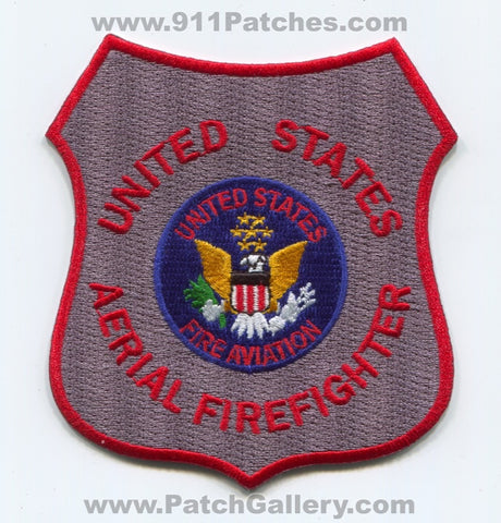 United States Aerial Firefighter Aviation Forest Fire Wildfire Wildland Patch Arizona AZ